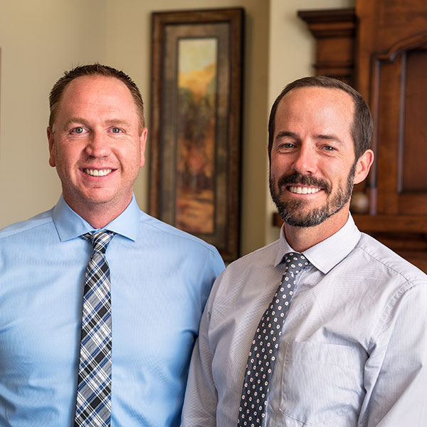 Dr. Kim Cassity and Dr. Erik Badger, periodontists in South Ogden, UT.
